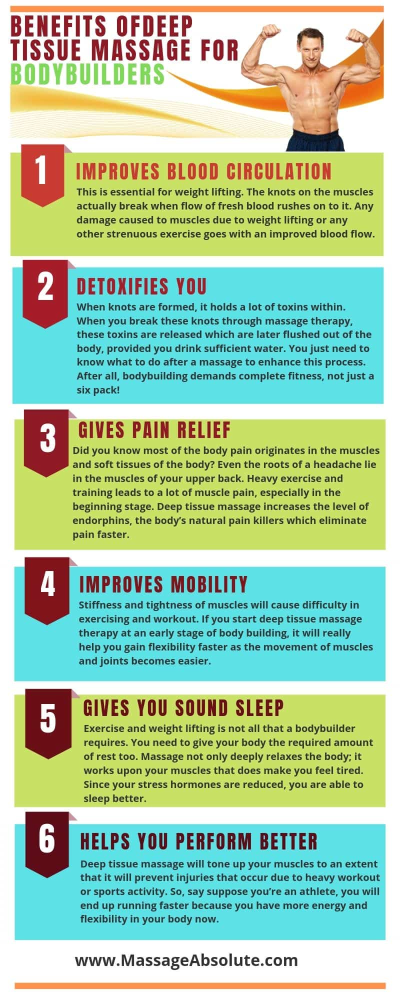 deep massage for muscle growth