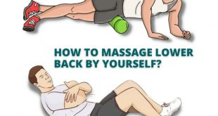 how to massage lower back by yourself